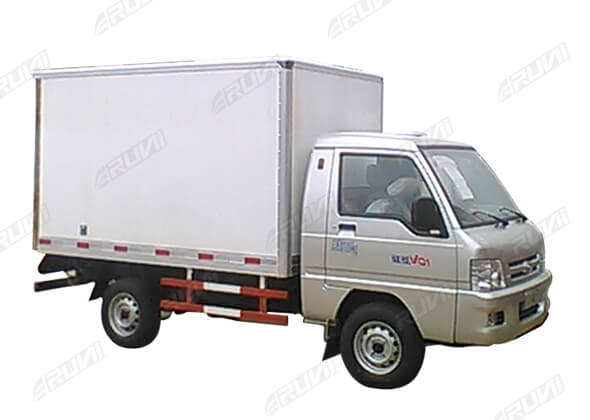 Refrigerated Truck Vehicle : Cbm refrigerated truck china special sales ruvii