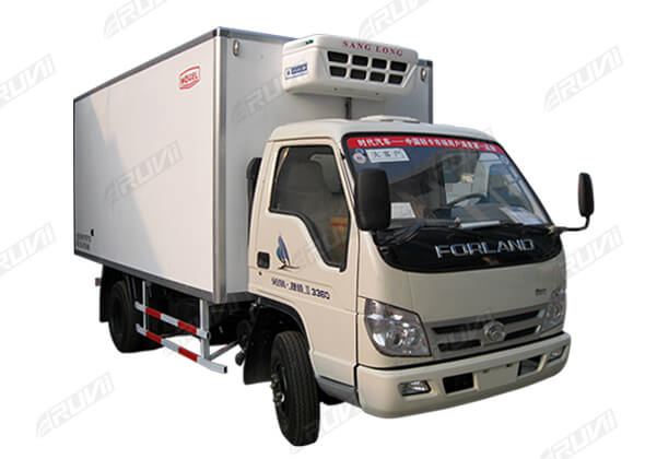 Refrigerated Truck Vehicle : Cbm refrigerated truck china special sales