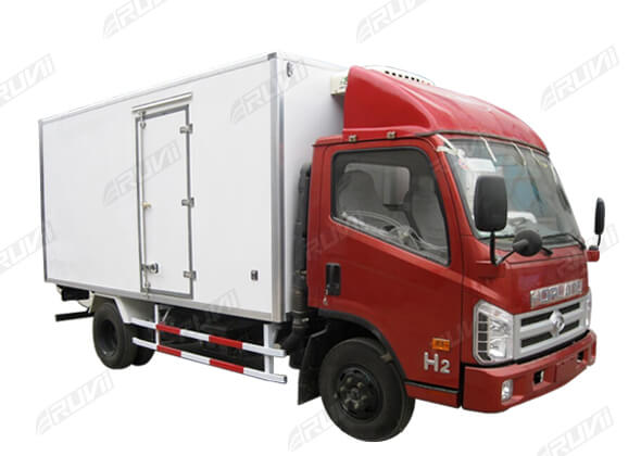 Refrigerated Truck Vehicle : Refrigerated truck features china special sales